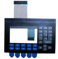 Panelview keypad with touchscreen