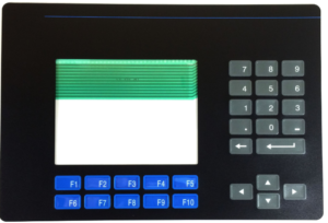Panelview 600 keypad - front