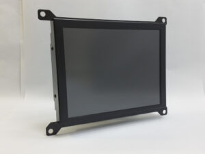 Monitech CRT to LCD retrofit kit, 12 inch LCD front view