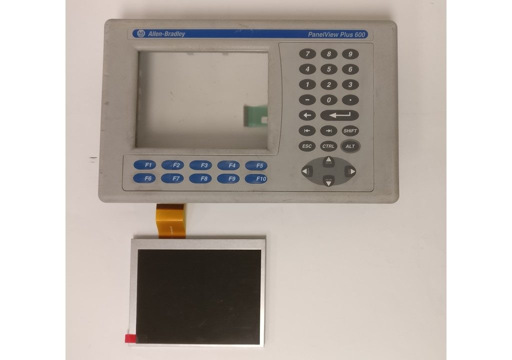 Panelview Plus 600 LCD and Front keypad