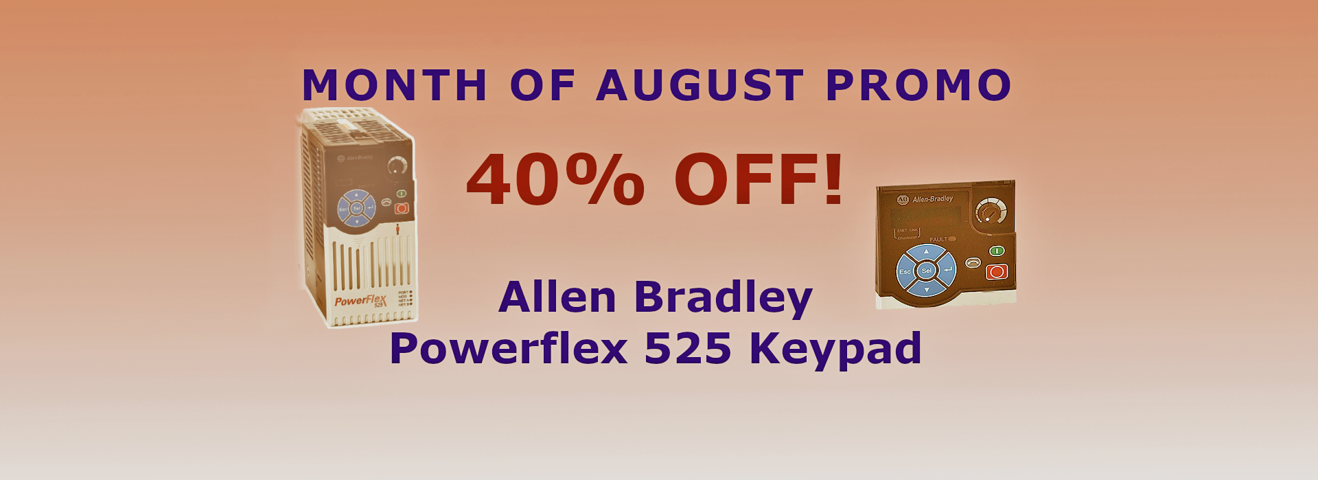 August Promotion picture