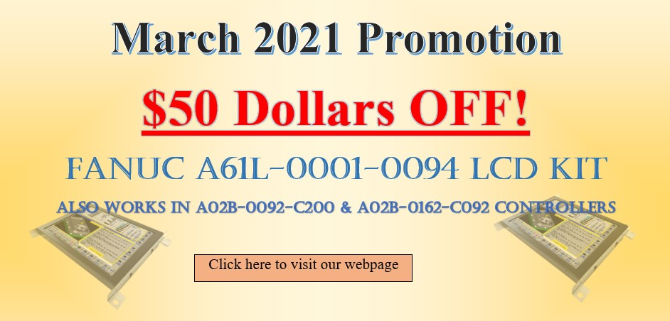 March promotion picture
